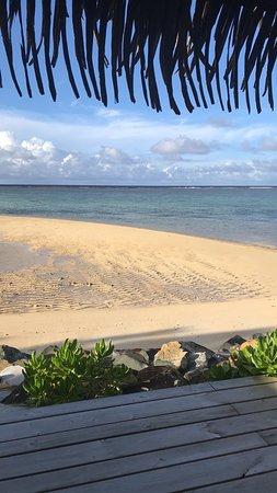 سي تشانج فيلاز: lagoon view from our bungalow