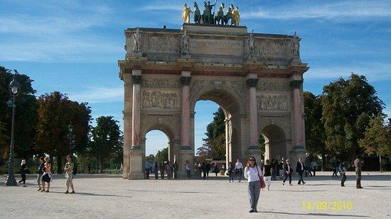 Open Tour Paris : Arco de triunfo.