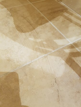 Burythorpe, UK: dirty mop marks on floor
