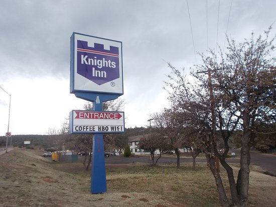 Knights Inn Payson, HWY 87, West side, South of downtown, Payson, AZ.