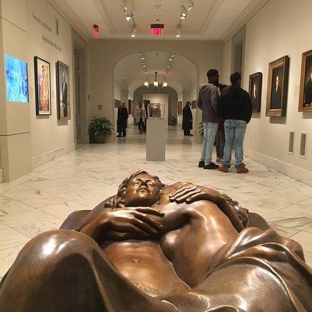 Smithsonian American Art Museum: Fascinating space!