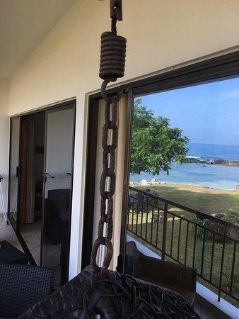 Bel Ombre, Seychelles: Balkonschaukel