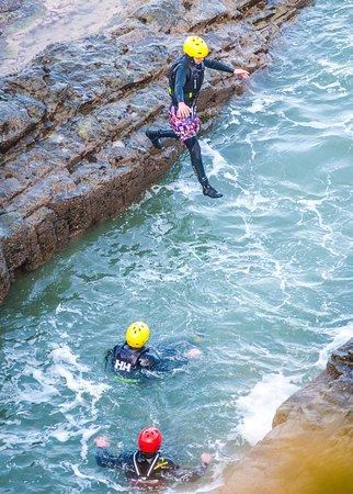 Fenit, Ирландия: Coasteering, North Kerry