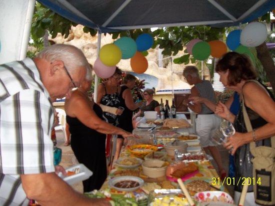 Ixtapa Palace Resort & Spa: Souligner l'arrivée d'amis