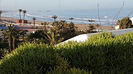 Hotel Riu Tikida Beach: View from our balcony.