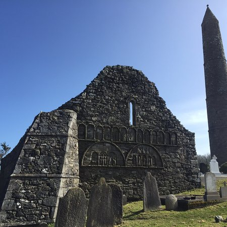 Ardmore Round Tower And Cathedral