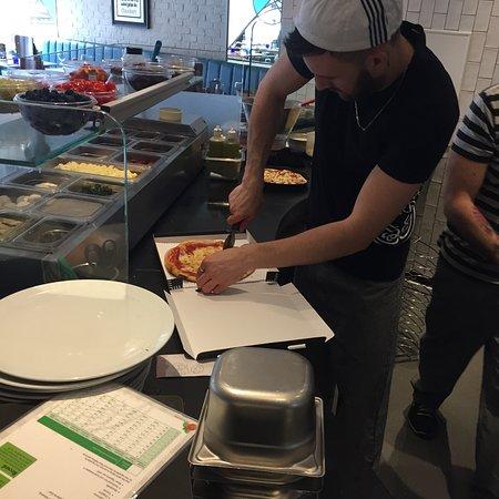Pizza Express Birmingham Harborne Menu Prices