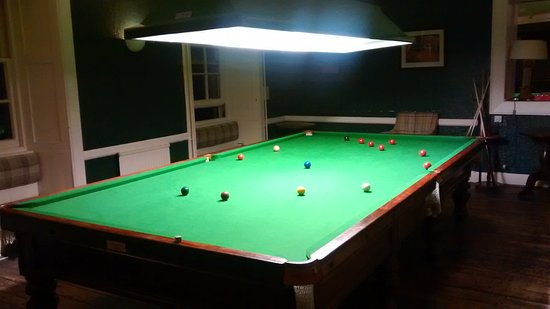 Tarbert, UK: Snooker Room