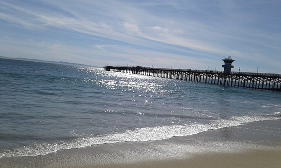 Seal Beach View From Where We Were At On The