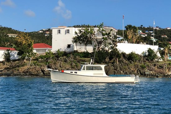 Cruz Bay, St. John: JuggerKnot - our 36' traditional Lobster boat!