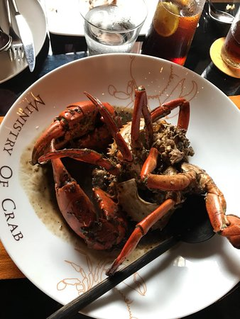 Ministry of Crab: XL pepper Crab