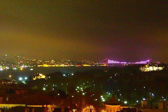 Adamar Hotel: vue de la terrasse