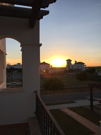 Roldan, Spain: sunset from terrace