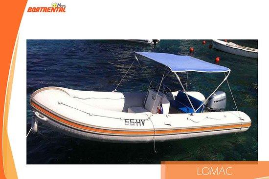 Hvar Adası, Hırvatistan: Lomac - A truly versatile boat.