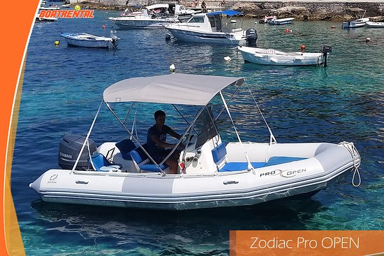 Hvar Island, Croatia: Zodiac Pro Open - Comfortable in any situation