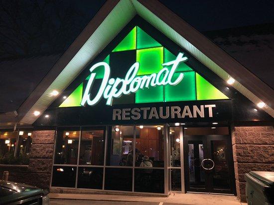 The Diplomat Restaurant, Fredericton