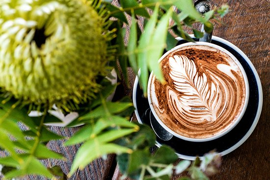Audley Dance Hall Cafe & Events: Latte