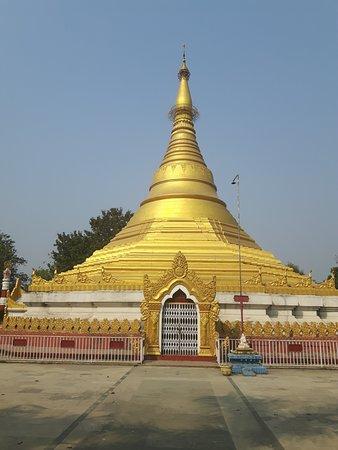 Myanmar Golden Monastery: Myanmar Monastery