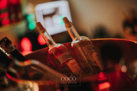 Coco: bottle of wine