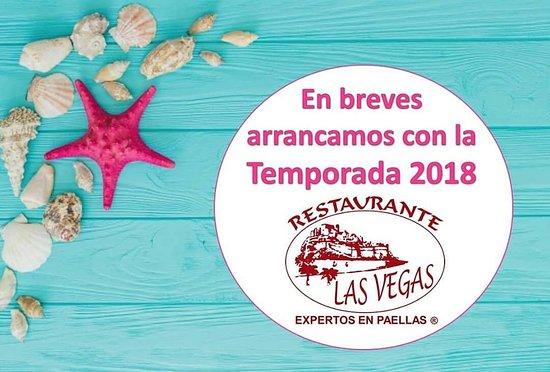 Restaurante Las Vegas - Experts Paellas: EL 24 DE MARZO ARRANCA LA NUEVA TEMPORADA 2018  ¿COMEMOS JUNTOS? by RESTAURANTE LAS VEGAS PEÑISC
