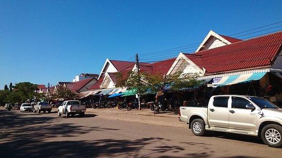 Salavan, Laos: The main entrance
