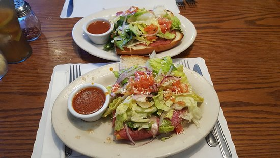 Lemon Grove, CA: Two 1/2 Baked Sub Sandwiches