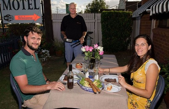 Dalby, Австралия: Restaurant