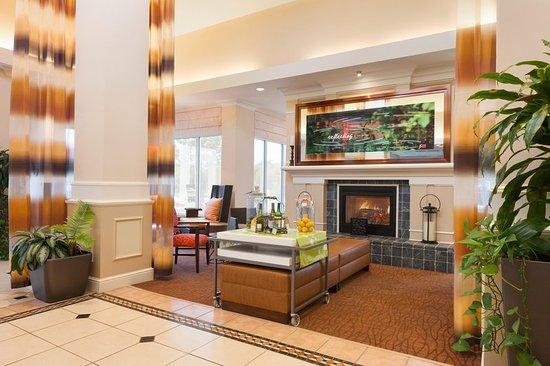 Lobby Picture Of Hilton Garden Inn Solomons Dowell Tripadvisor