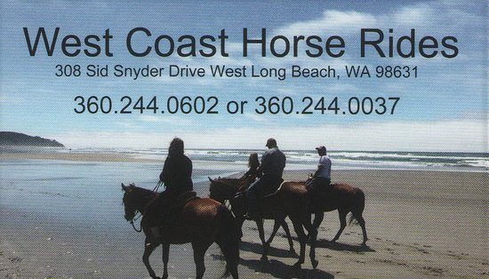 Long Beach, WA: Our business card