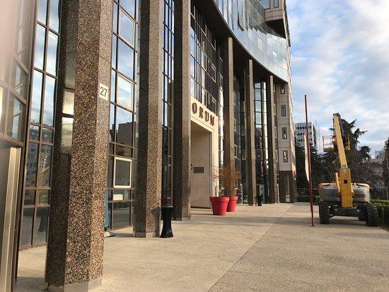 Campanile Lyon Centre - Gare Part Dieu : Entrada de las afueras