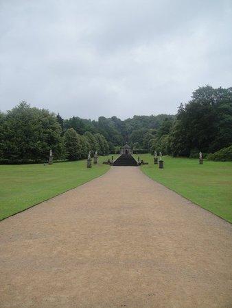 Chatsworth Garden, a little bit of it