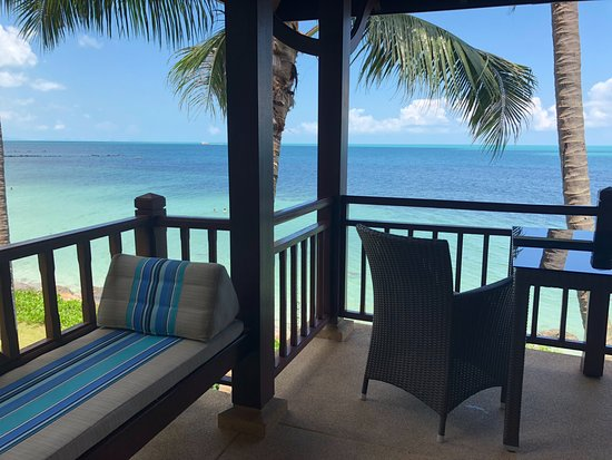 Belmond Napasai : View from our villa 106