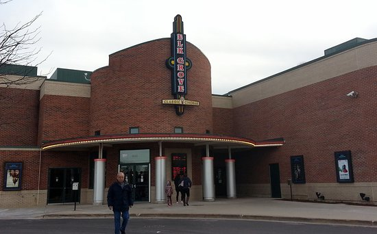 Elk Grove Village, IL: entrance to Elk Grove Theatre