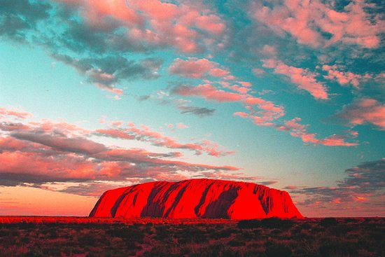Alice Springs, Australia: Uluru Sunset