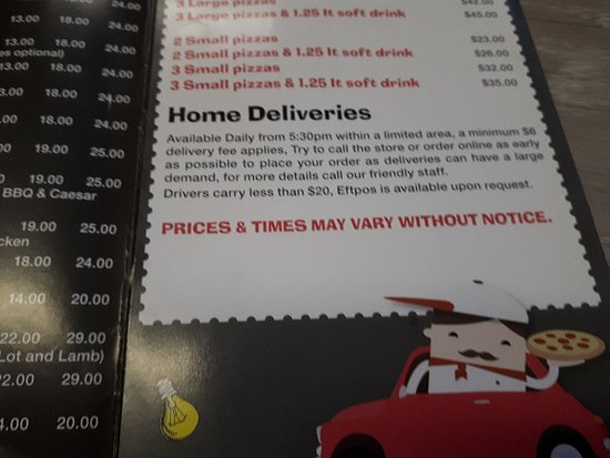 Italian Pizza House: 20180324_190114_large.jpg