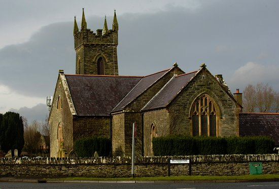 Eglinton, UK: Local Church.