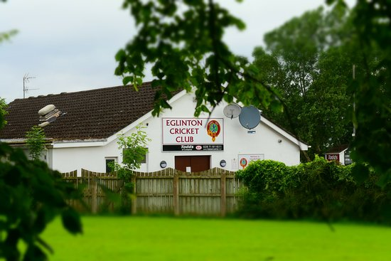 Eglinton, UK: Local Cricket Club
