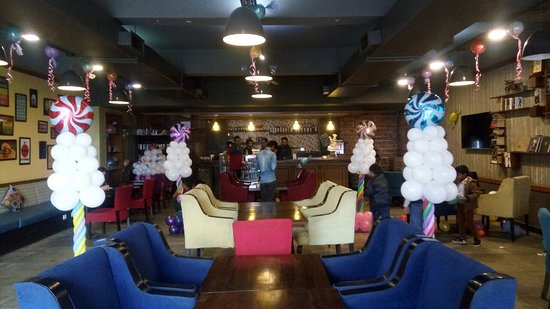 Birthday Party Decorations Picture Of The Book Cafe Jodhpur Tripadvisor