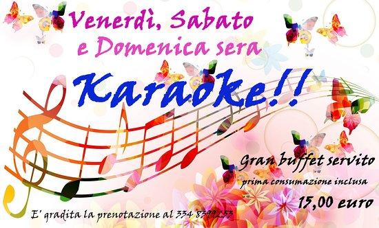Be-Live  ogni venerdì. sabato e domenica sera Karaoke 95a7fd71d544
