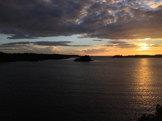 Houtskar Island, Finland: Sunset in Hyppeis - auringonlasku Hyppeisissä