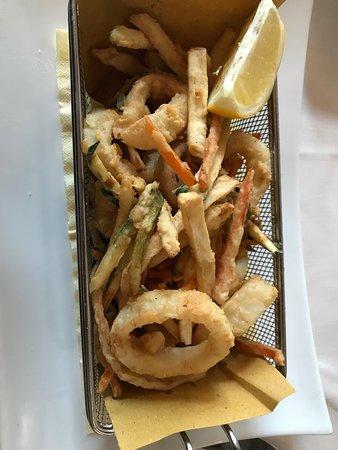Noblesse Oblige: Piccolo fritto di verdure e calamari