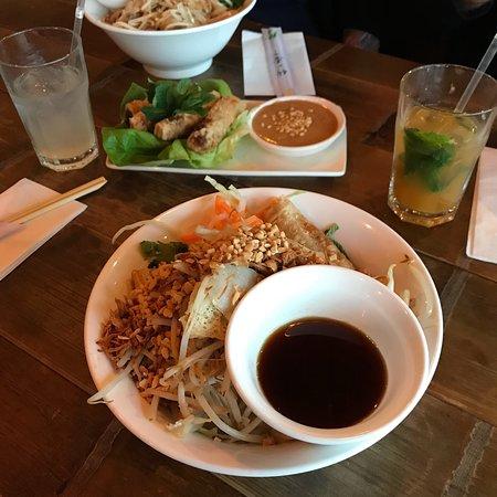Tasty Vietnamese food with lots of vegan options