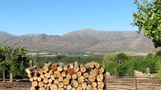 Citrusdal, África do Sul: Cederkloof Aussicht