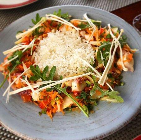 Mayflower: Salade de poulpes