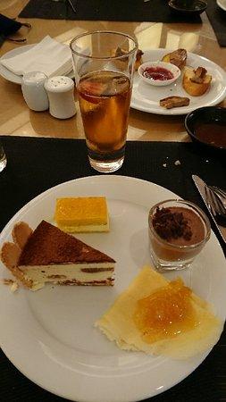 Dinner at jw cafe