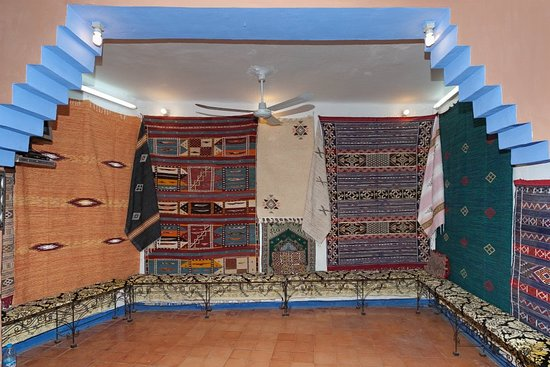 Chefchauen, Marruecos: Dar Moulay idriss  Inside a cooperative