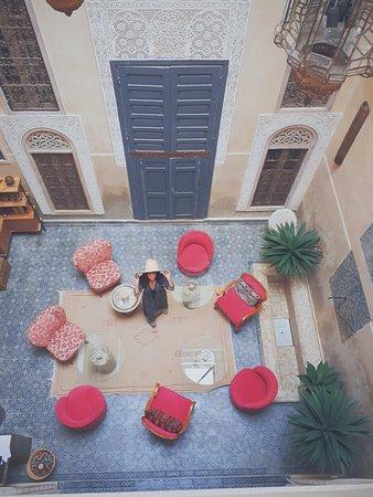 Riad Anata: La vue des chambres
