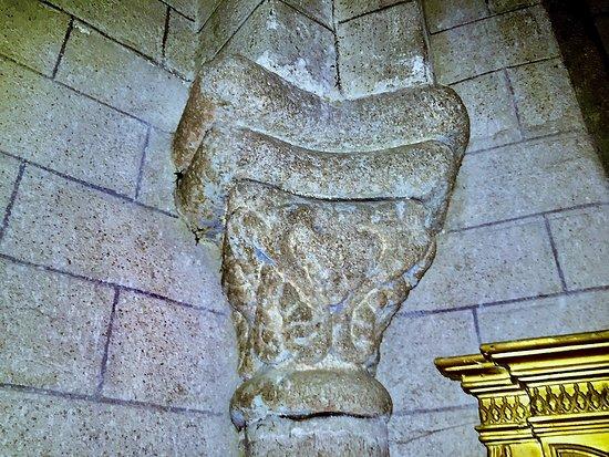 Magnac-Laval, France: des chapiteaux sculpté