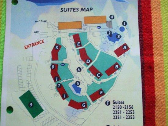 Cabo San Lucas Resorts Map on