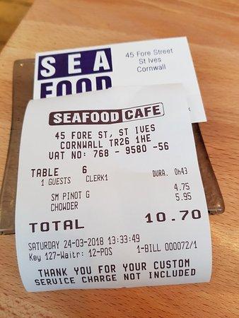 Seafood Cafe: 20180324_133728_large.jpg